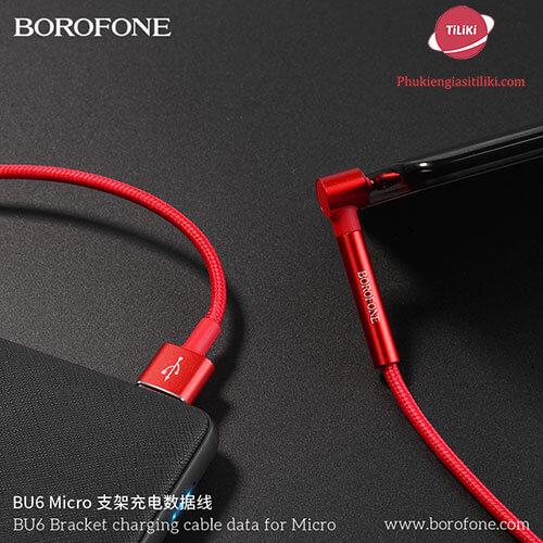 Cáp sạc borofone bu6