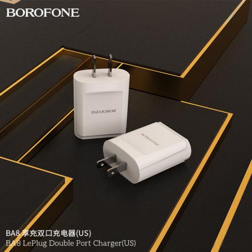 cu sac 2 cong borofone ba8