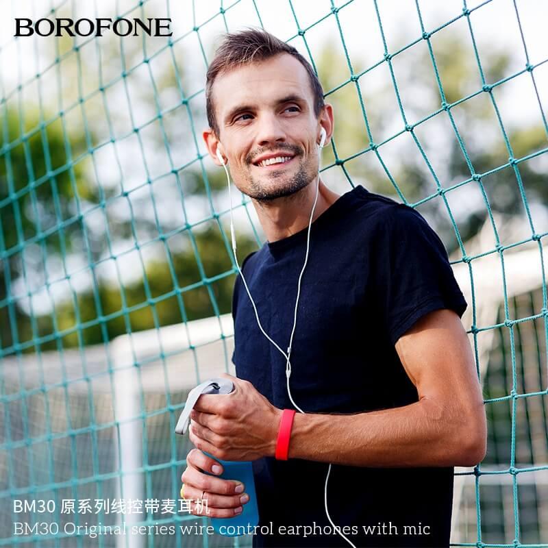 Tai nghe nhét tai borofone bm30