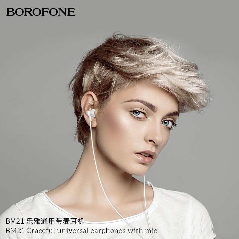 tai nghe borofone bm21
