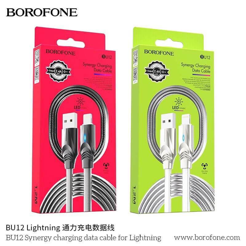 Cáp sạc borofone BU12